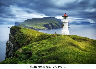 Mykines lighthouse, Faroe Islands
