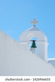 Mykonos Greece, vibrant colors and beautiful skys