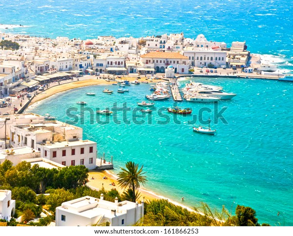 Mykonos Town Chora and Harbor