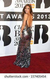 Myleene Klass at the The Classic Brit Awards 2013 held at the Royal Albert Hall, London. 02/10/2013