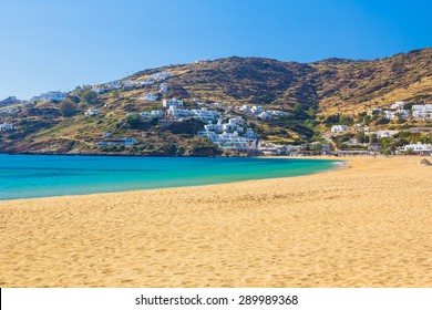 Mylopotas beach, Ios island, Cyclades, Aegean, Greece