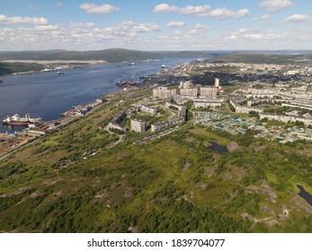 Myrmansk Kola bay Kolskiy zaliv. - Shutterstock ID 1839704077