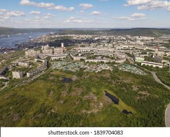 Myrmansk Kola bay Kolskiy zaliv. - Shutterstock ID 1839704083