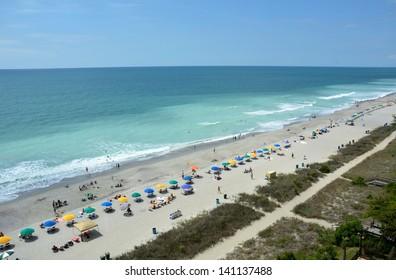 Myrtle Beach South Carolina, aerial view