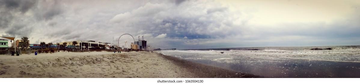Myrtle Beach, South Carolina by the Boardwalk.