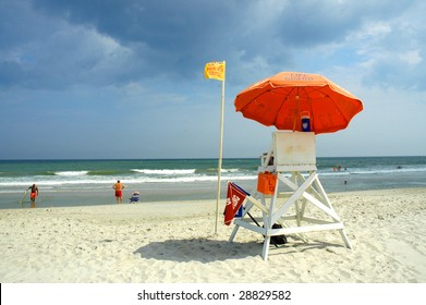 Myrtle Beach South Carolina Lifeguard Chair