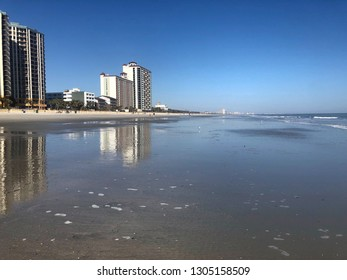 Myrtle Beach South Carolina on a beautiful day.