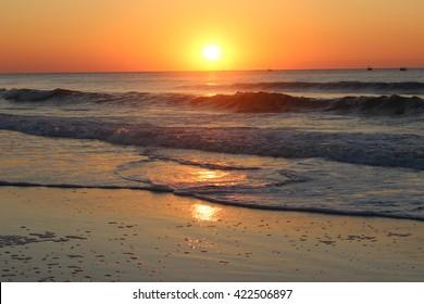 myrtle beach sunsets