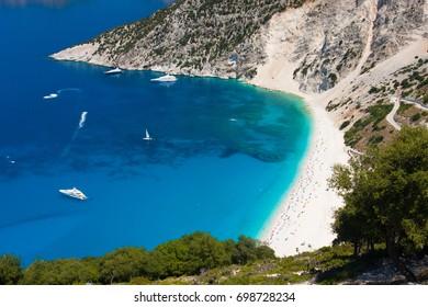 Myrtos Beach Kefalonia Greece