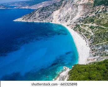 Myrtos Beach, Kefalonia Island.