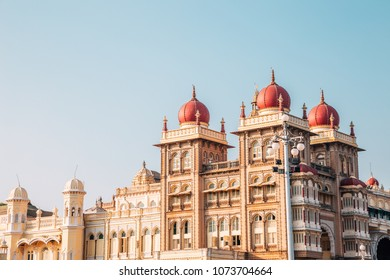 Mysore Palace historical architecture in Mysore, India