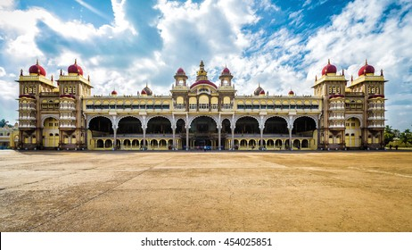 Mysore Palace in Mysore, India