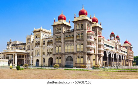 Mysore Palace in Mysore, Karnataka state in India