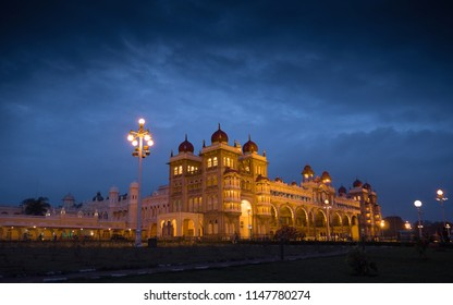 Mysore Palace in Twilight