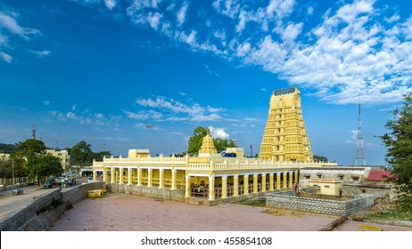 MYSORE/INDIA - NOVEMBER 27, 2015: Shri Chamundeshwari Temple in Mysore, India