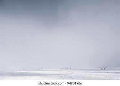 mysterical mist at the beach
