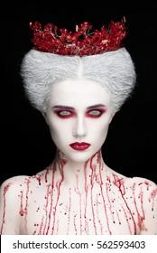 Demon Makeup Images Stock Photos Vectors Shutterstock