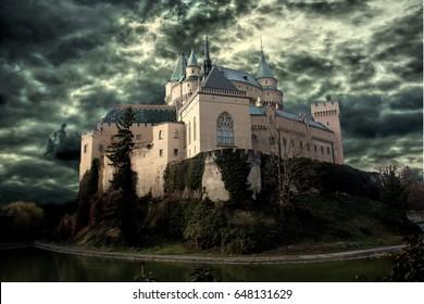 Mysterious Bojnice Castle