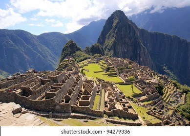 Mysterious city - Machu Picchu, Peru