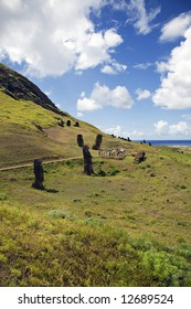 mysterious Easter island