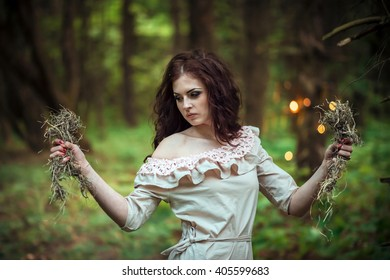 Mysterious Forest Nymph
