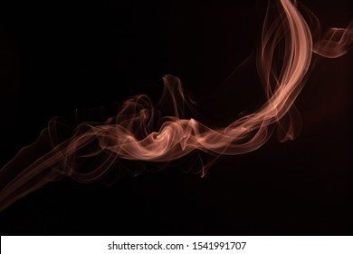 Mysterious Golden Flame Background Texture