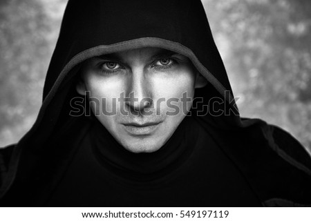 Mysterious Man in Black