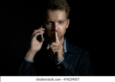 Mysterious phone call