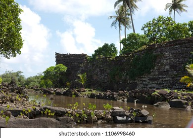 Mysterious ruins of Nan Madol in Micronesia