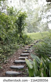 Mysterious Stone Staircase