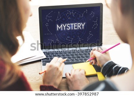 Mystery Planets Horoscope Astrology Concept Stock Photo (Edit Now
