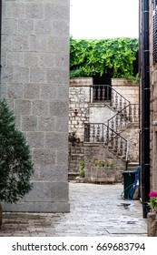 Mystery stairs to garden in Kotor