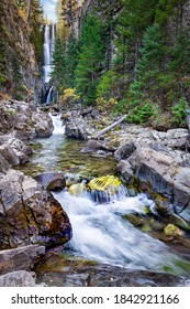 Mystic Falls Waterfall near Telluride Colorado