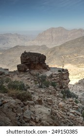 Mystic mountains, Jabal Nakhal, Sultanate of Oman