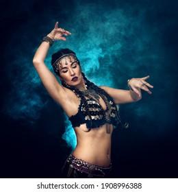 mystic woman dancer, bellydance, tribal