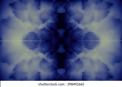 Mystical abstract background in retro shades, with gothic mood.