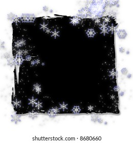 Mystical stars and snowflakes