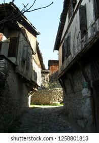 Mystical street of Amasra, Turkey