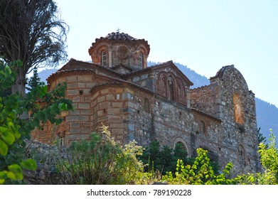 Mystras of Peloponnese Greece. World Heritage by UNESCO