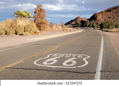 The mythical Route 66 in the USA