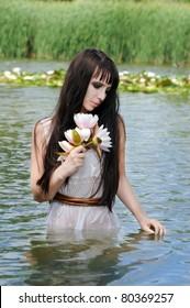 mythological creature, a mermaid