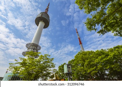 N Seoul Tower In Korea