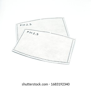 N95  filter sheet for personal protection from pm 2.5 toxic pollution.