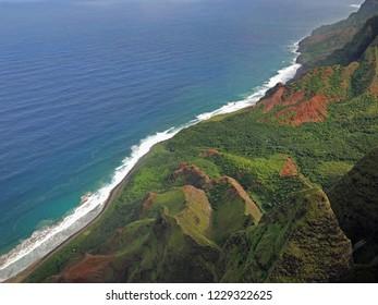 Na Pali Coast State Wilderness Park, Kauai, Hawaii