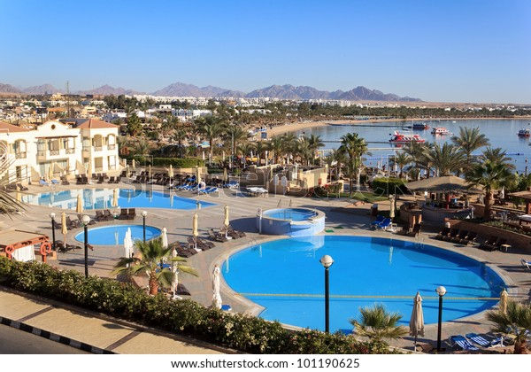 Naama Bay in Sharm El Sheikh, Ägypten