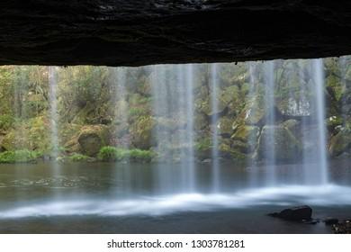 Nabegataki falls, Kumamoto prefecture, Japan