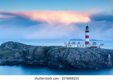 Entschädigung nach anstrengender Moorwanderung - Isle of Scalpay Lighthouse