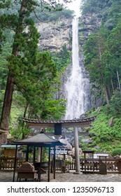 Nachi Falls (Nachi no Taki) in Nachikatsuura, Wakayama Prefecture, Japan