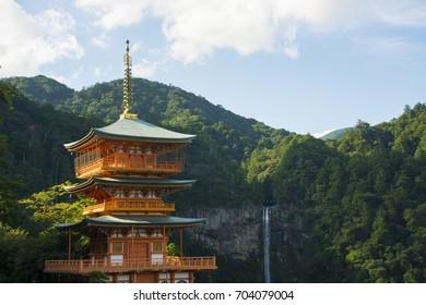 nachi falls wakayama prefecture japan