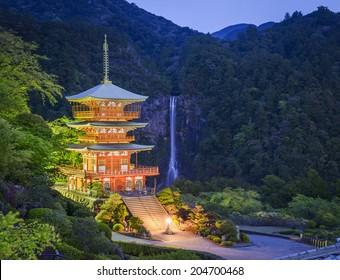 Nachi Taisha Shrine in Nachi, Wakayama, Japan.
